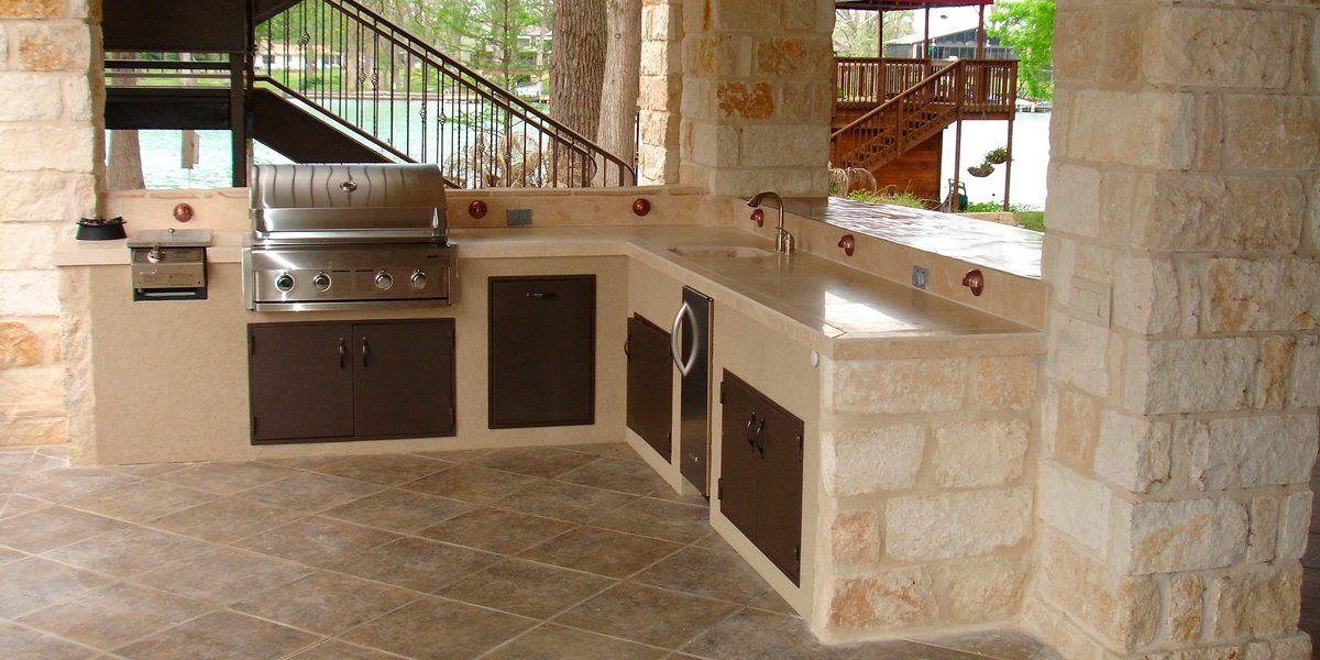 Cucina esterna fai da te, giardino fai da te, tavolo giardino. Cucina Esterna 5 Idee Per Realizzarla Idea Casa Plan