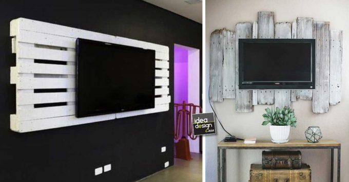 Ecco alcune idee fai da te che ti consentiranno di reinventare gli spazi di casa con un tocco di bricolage creativo. Porta Tv Fai Da Te Con Pallet Ecco 15 Idee Da Cui Ispirarsi