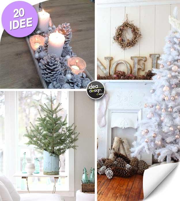 Addobbi natalizi shabby chic, accessori e decorazioni in vendita. Decorare Il Natale In Stile Shabby Chic 20 Idee Per Ispirarvi