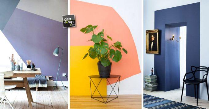 Vorresti sapere come dipingere casa? Dipingere Le Pareti Di Casa In Modo Creativo 20 Idee Design