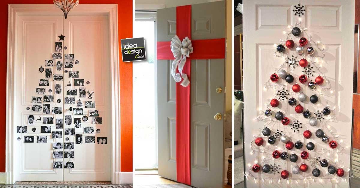 Di rita carretta rita su pinterest. Decorare Le Porte Per Natale Con Fantasia Ecco 11 Idee Per Ispirarvi