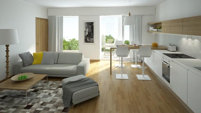 cucina e soggiorno si guardano, in questo ambiente unico nel quale le scelte cromatiche valorizzano gli elementi d'arredo. Il Soggiorno Con Cucina A Vista 15 Proposte Da Cui Trarre Ispirazione