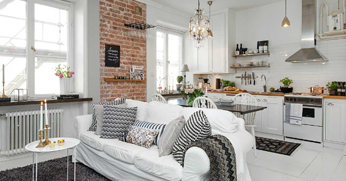 La soluzione più alla moda, adatta soprattutto a un open space moderno, ti permette di dividere la cucina dal soggiorno in maniera elegante e senza mettere una barriera tra uno spazio e l'altro che, soprattutto se molto piccolo, in questo modo guadagna in luminosità e respiro. Come Arredare Una Cucina A Vista 15 Idee Assolutamente Da Copiare