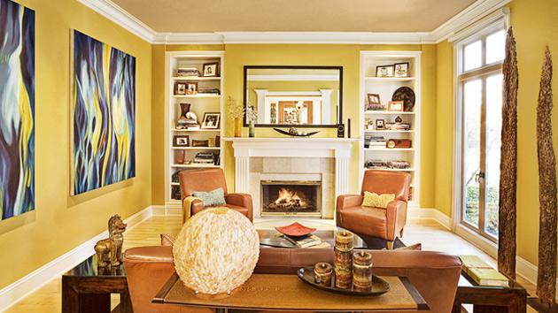 Passiamo, adesso, ai colori per il soggiorno con angolo cottura: Colori Pareti In Un Soggiorno Moderno 15 Idee Per Non Sbagliare Ispiratevi