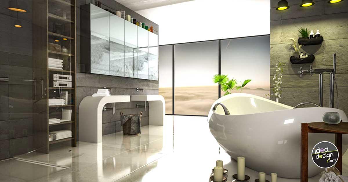 Ovviamente bisogna prediligere un design puro e privo di fronzoli, moderno nonostante i richiami classici. Bagni Moderni 40 Idee Di Arredo Per Un Bagno Moderno