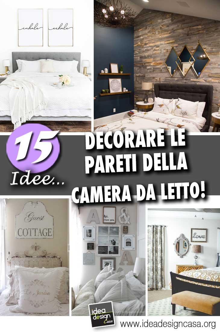 3 idee per camere differenti. Pareti Camera Da Letto 15 Idee Per Decorare Con Stile E Carattere