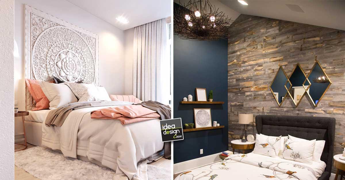 pareti camere da letto moderne in vendita in arredamento e casalinghi: Pareti Camera Da Letto 15 Idee Per Decorare Con Stile E Carattere