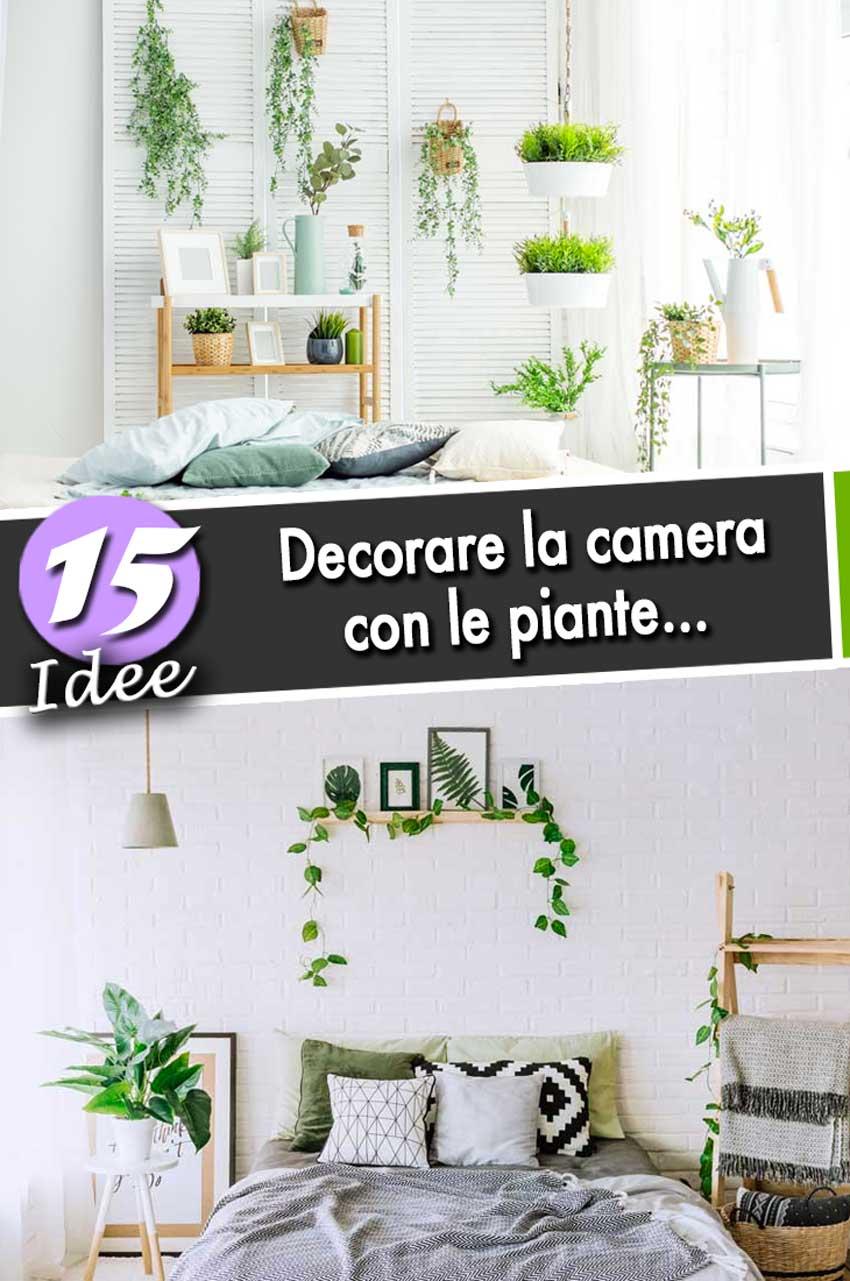 3 colori tenui in camera da letto. Decorare La Camera Da Letto Con Le Piante Ecco 15 Idee Per Ispirarvi