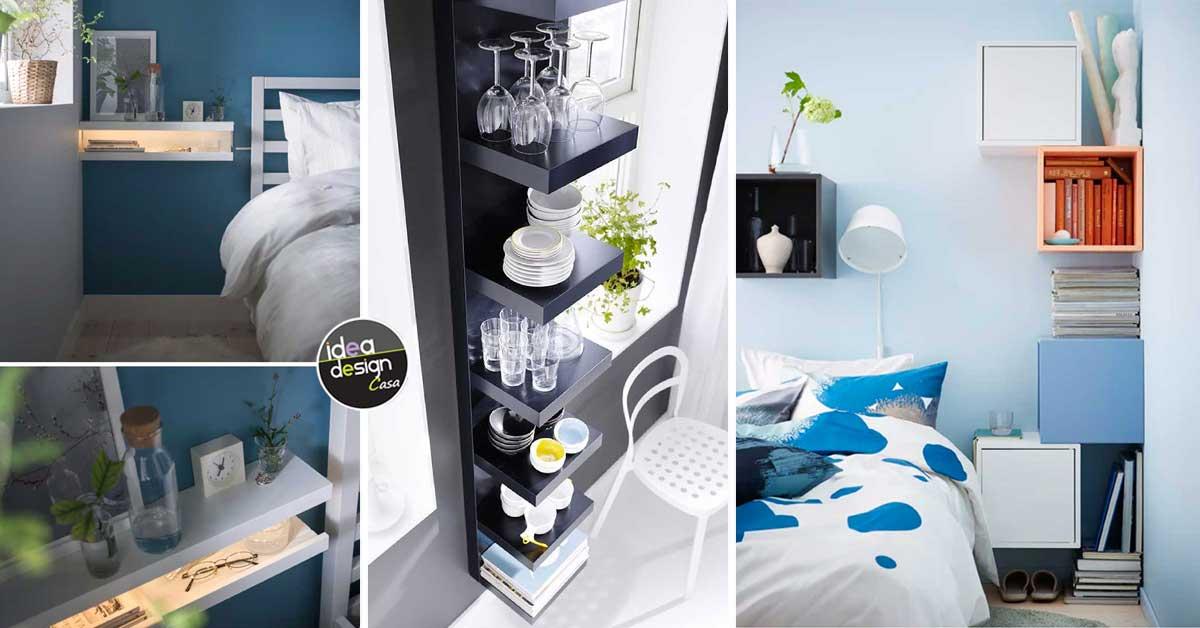 E' un'attrazione elegante per il suo. Mensole Ikea 15 Modi Di Utilizzarle In Modo Furbo Per Arredare Ispiratevi