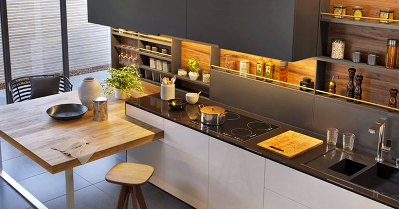 Finiture ed elementi a contrasto. Cucine Moderne Piu Di 100 Foto Per Ideare La Tua Cucina Contemporanea