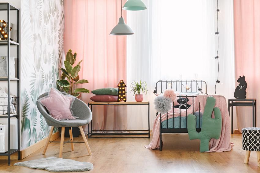 Il binario delle tende a pannello si applica a parete o a soffitto. Tende Moderne I Tuoi Interni Cambieranno Volto Con Queste 40 Idee