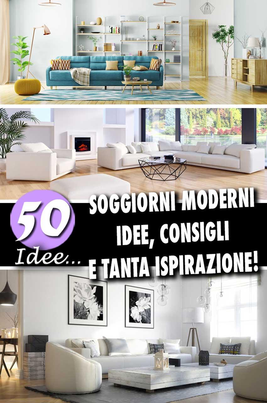 Le regole d'oro e gli errori da evitare. Soggiorni Moderni 50 Idee Per Un Arredamento Moderno In Salotto