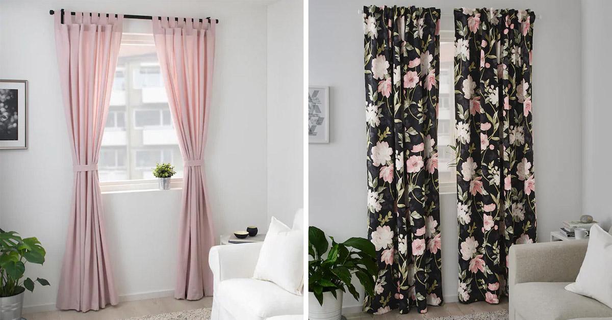 Ecco 10 idee per scegliere le tende ikea stanza per. Le Tende Ikea Per La Primavera 2020 15 Ispirazioni Per Una Casa Graziosa