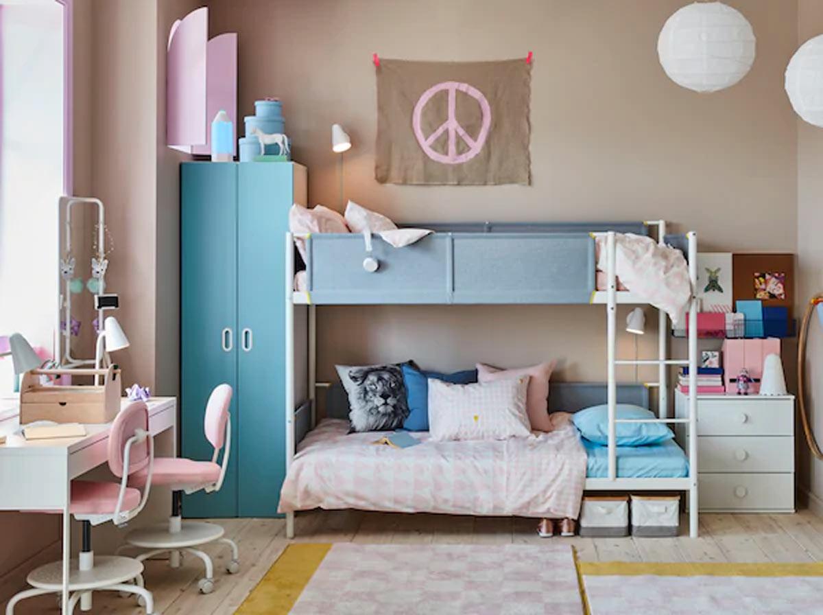 Se avete bisogno di acquistare comodamente da casa vostra, è meglio che entriate in una pagina online, quindi con pazienza scegliete il modello più conveniente. Camerette Ikea 2020 15 Idee Belle E Funzionali Per La Camera Dei Bambini