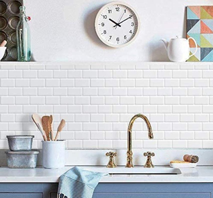 Volete dire addio alle piastrelle sul muro della cucina, ma non riuscite a trovare delle valide alternative ? 10 Idee Per Abbellire La Cucina Con Piastrelle Adesive Ispiratevi