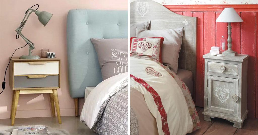 Questo letto a baldacchino da solo arreda la tua camera. Comodini Design Maisons Du Monde 10 Ispirazioni Per La Camera Da Letto