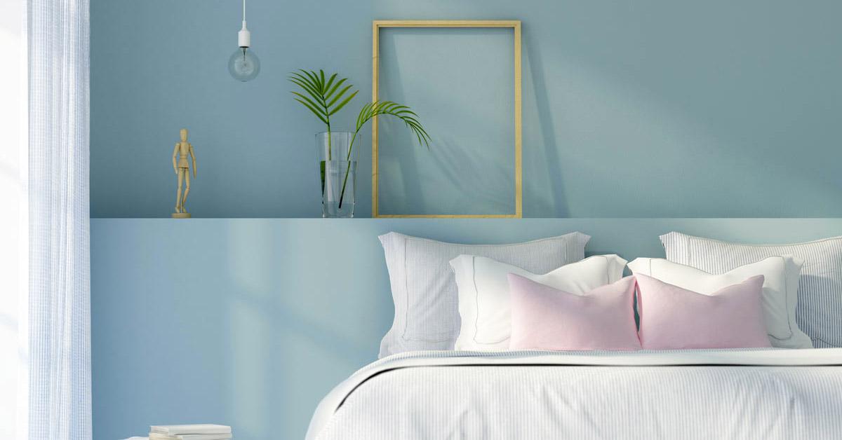 Colori pareti camera da letto feng shui feng shui bedroom with wallpaper shadows hope. Scegliere Il Colore Delle Pareti Per La Camera Da Letto 10 Belle Ispirazioni