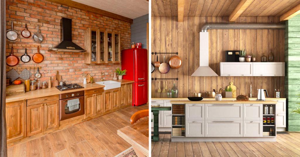 La tavolozza dei colori è un altro aspetto importante dell'arredamento rustico. 10 Idee Per Una Splendida Cucina Rustica Da Cui Prendere Spunto