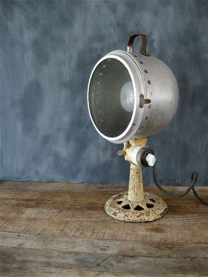 lampada vintage ghisa stile industrial chic arredo bagno