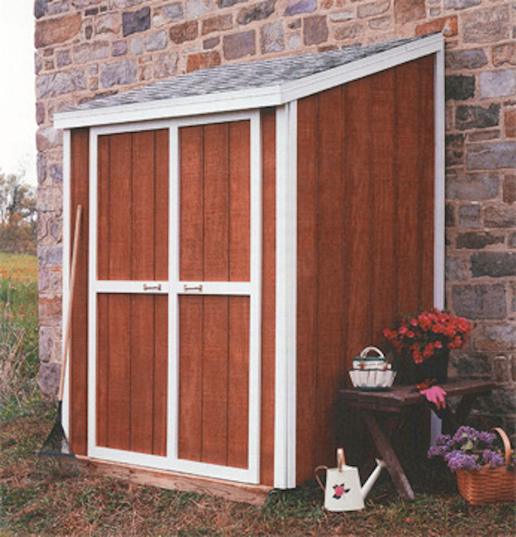 Outside Shed Storage Small