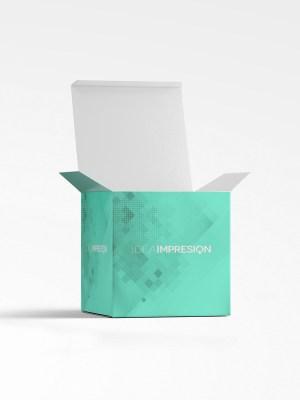 Cajas plegables L, embalaje, cajas cubo