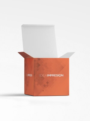 Cajas plegables XL, embalaje, packaging, cajas cubo