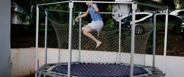 Four Health Benefits of Trampoline Jumping