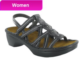 WomenGreyStrapSandal