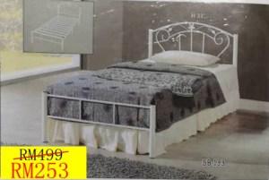 katil besi single murah, katil besi murah, katil besi bujang murah, katil besi putih, katil besi single,