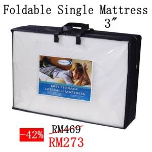 dreamland easy storage mattress, dreamland foldable mattress, dreamland single mattress price, dreamland travel mattress