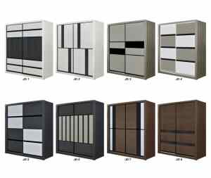 8x8 wardrobe, melamine wardrobe, built in wardrobe, sliding melamine wardrobe