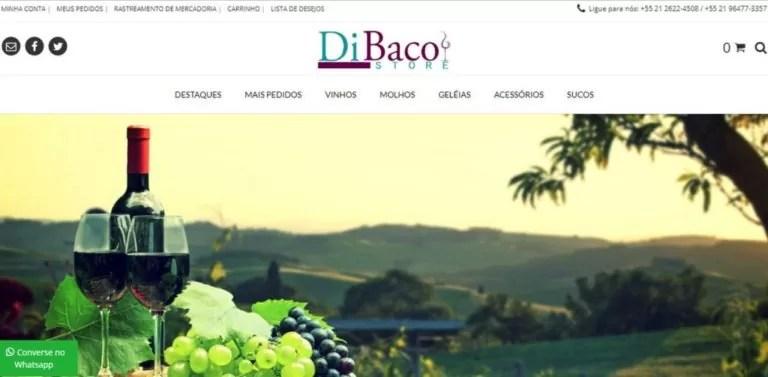 Desenvolvimento de identidade visual e loja virtual responsivo para dibaco store