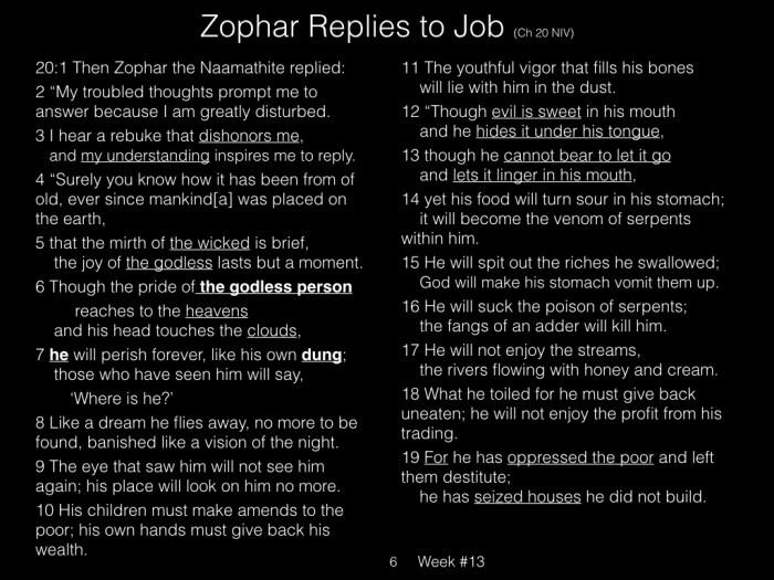 Book of Job, Raz, Week #13.006