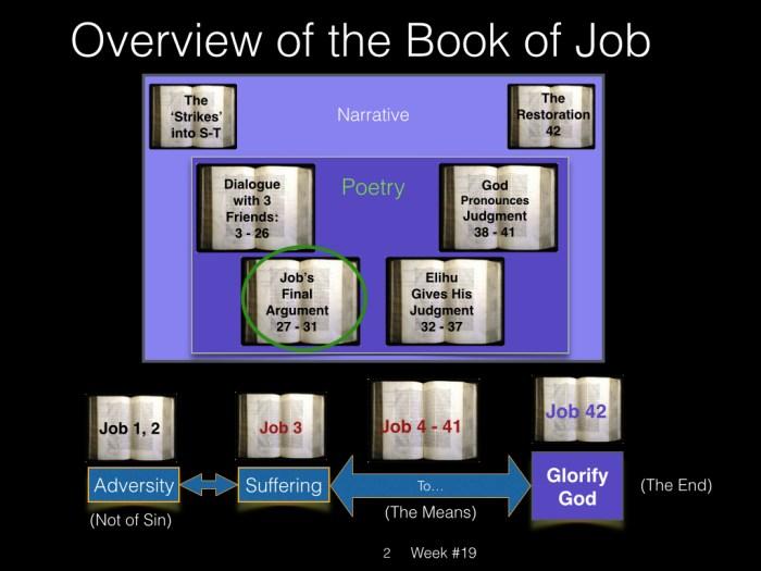 Book of Job, Raz, Week #19.002