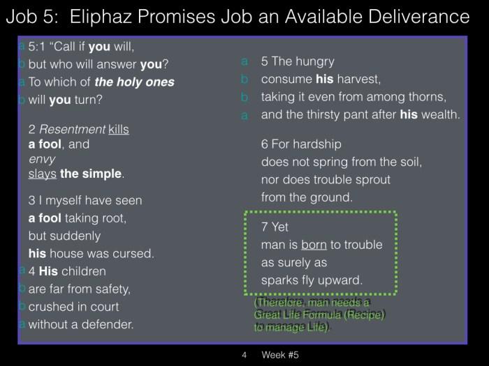 Book of Job, Week #5 LB.004