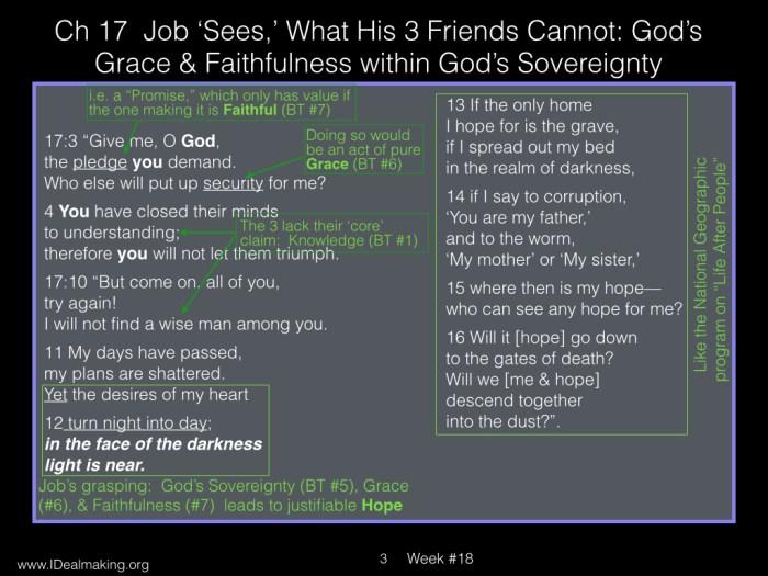 Book of Job, Week #18 LB.003