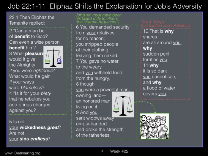 Book of Job, Week #22 LB .004