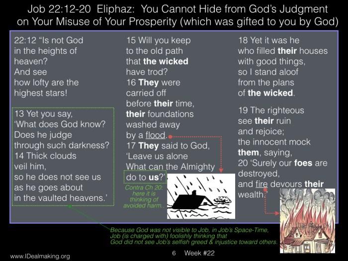 Book of Job, Week #22 LB .006