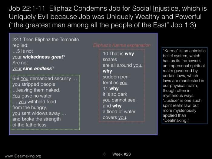 Book of Job, Week #23 LB.003
