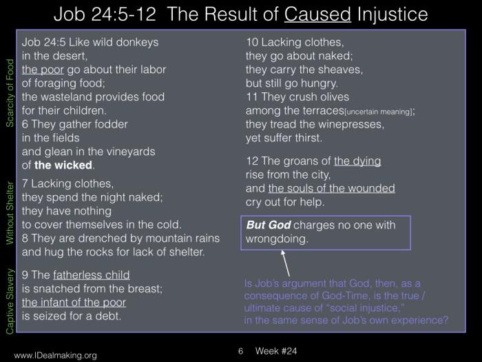 Book of Job, Week #24 LB.006
