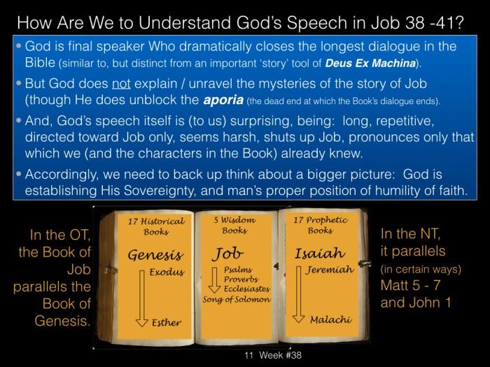 Book of Job, Week #38.011