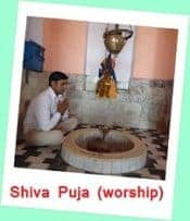 Click here to go Shiva Puja (worship) Page