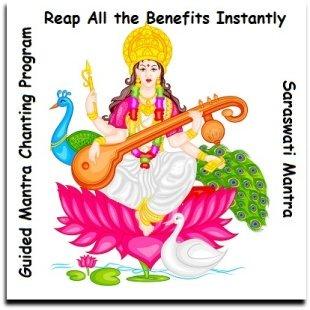 Guided Saraswati Mantra Chanting Program