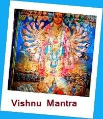 Click here to go Vishnu Mantra Page