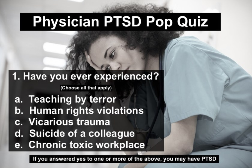 Physician PTSD Quiz