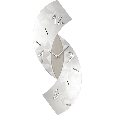 Orologio da parete numeri moderni adesivi legno grigio. Orologio Parete Design Moderno Grigio 30x80 Lowell 11476 Idea Luce Di Filippi Carru Cuneo