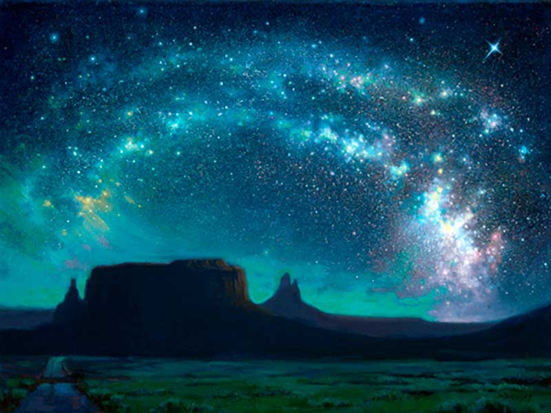 Create flashlight constellations