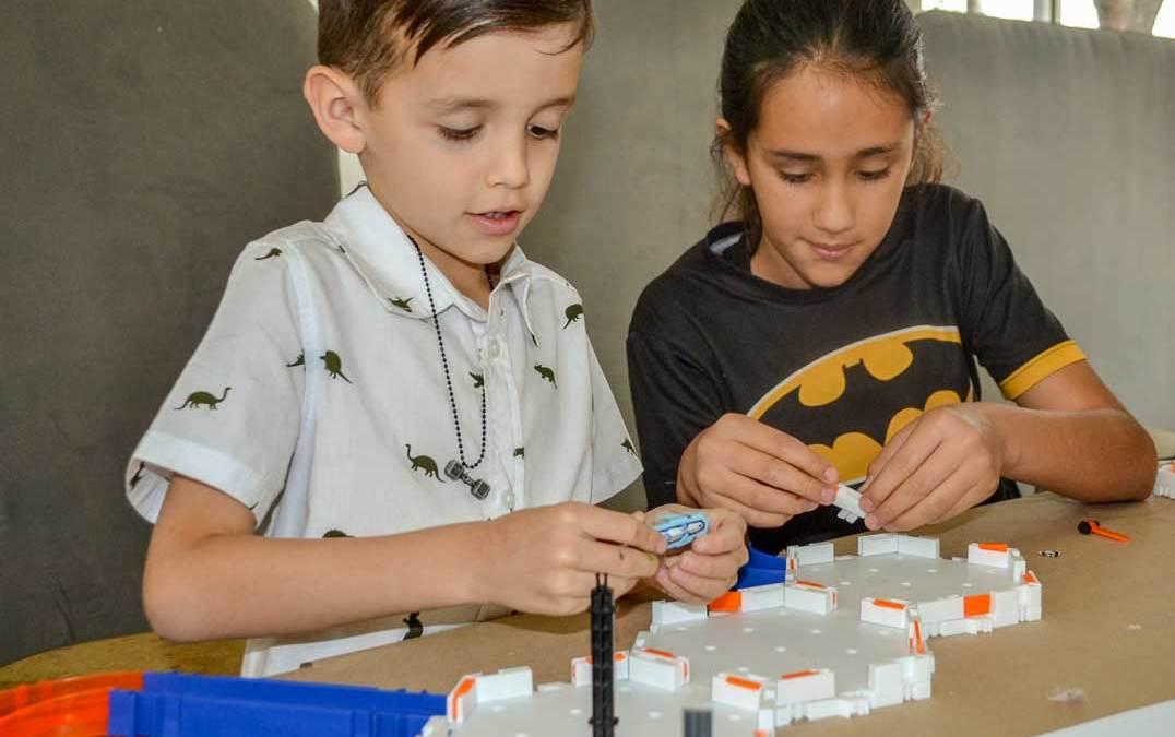 Wonder Camps explore the art of invention through hands-on fun