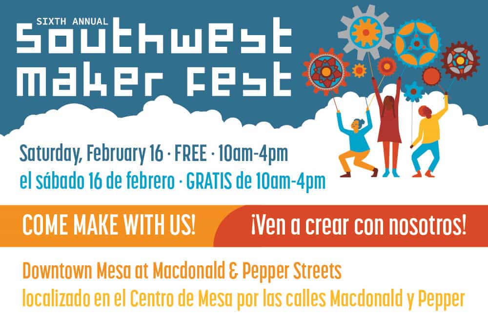 Enjoy free creative experiences at the i.d.e.a. Museum  Feb. 16 during Southwest Maker Fest