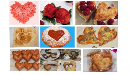 Ideas de comidas para el día de San Valentín